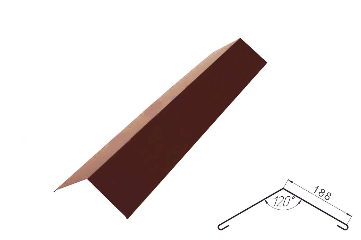 Как крепить оцинкованный конёк на шиферную крышу? - ответы 50