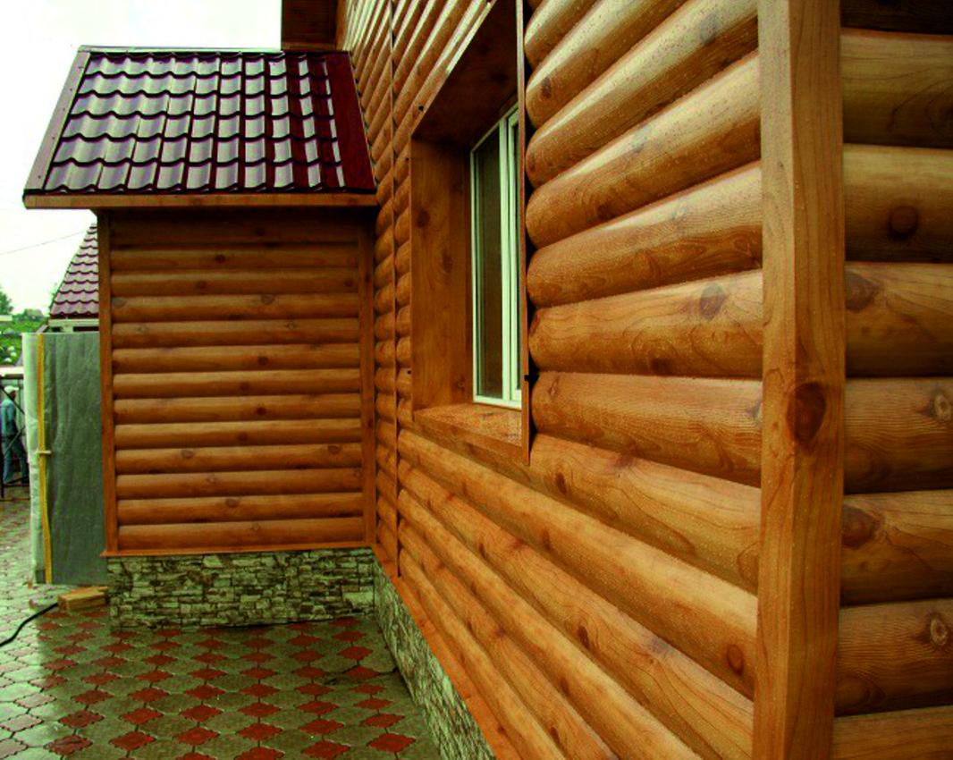 Сайдинг блок хаус фото домов