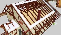 Технология строительства крыши - основные этапы