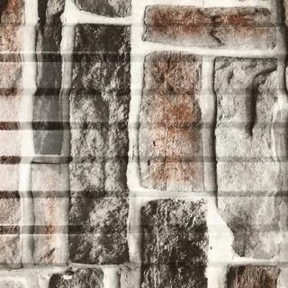Фото профнастила под серый камень горизонтальный рисунок