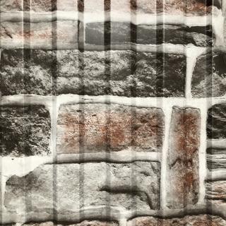 Фото профнастила под серый камень вертикальный рисунок