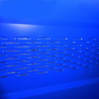 Купить металлосайдинг перфорированный в Оренбурге синего цвета