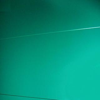 Металлосайдинг классический берюзового цвета