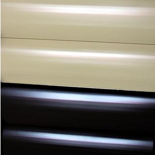 Купить металлосайдинг в форме бревна коричневого цвета